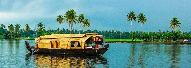 Alleppey Honeymoon destinations in south india