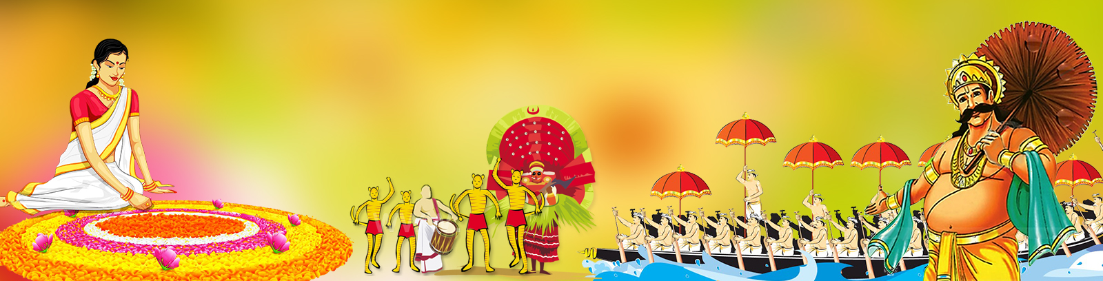 Major festival of Kerala - Onam by Leisure Tours - the best Kerala Tour Operator