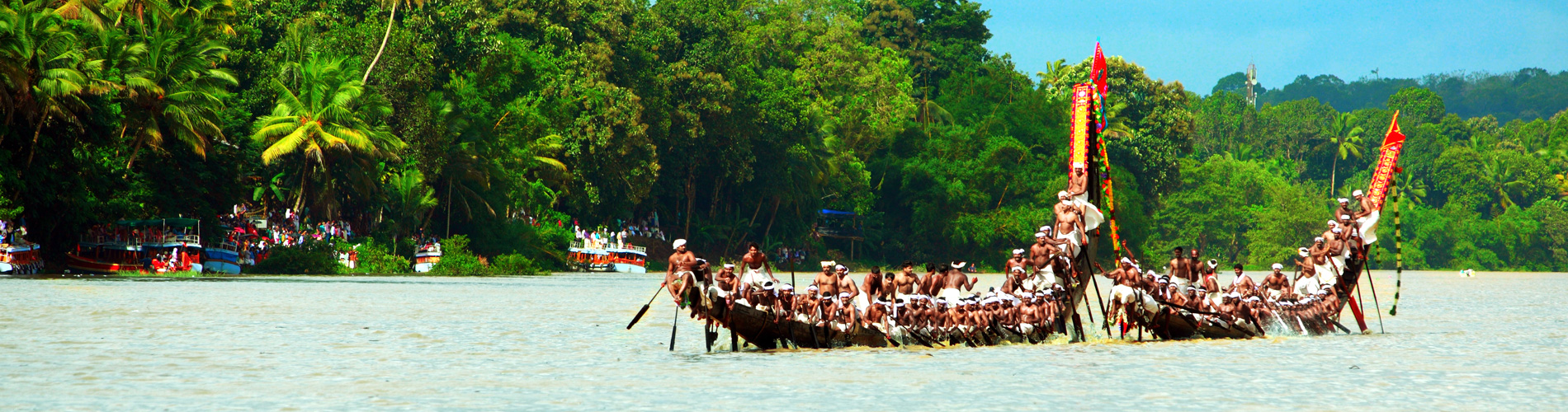 Boat racing in kerala